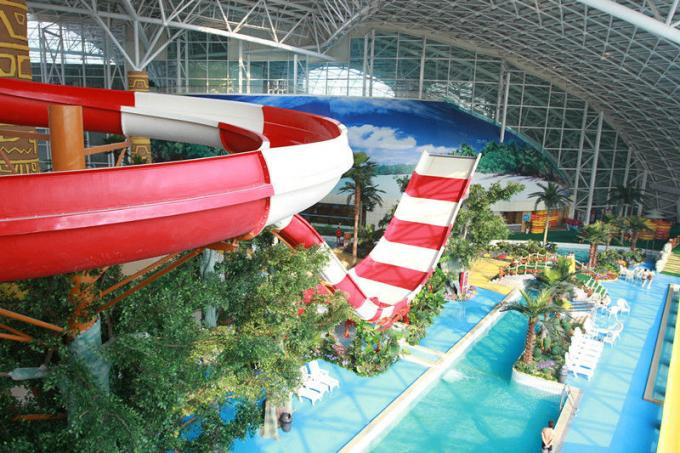Sea World Meters Cube-Trend Waterpark Project , Large Indoor Water Wark