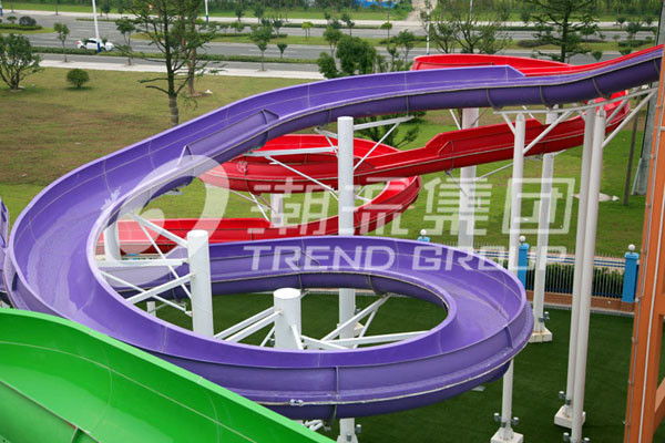 outdoor custom water slides spiral water slide for adults