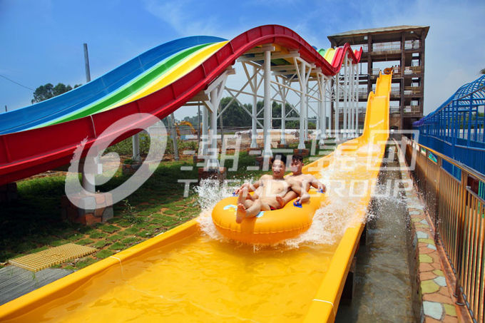 FPR Custom Water Slides OEM Extreme Water Slide With High ...