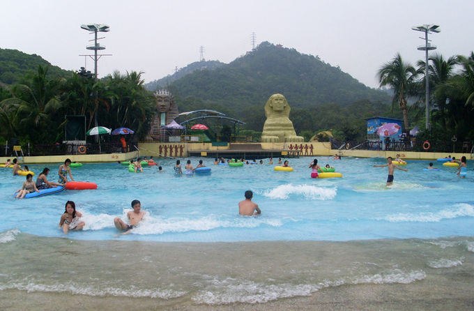 Outdoor Water Park Wave Pool Wave Machine For Family Entertainment